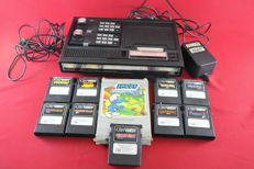 CBS Collecovision Console with 10 Games