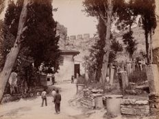 Abdullah Frères (active from 1858 to 1899) - Turkish cemetery in the district of Eyri Capou, Constantinople