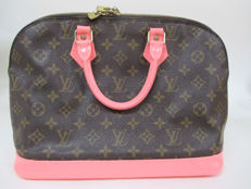 Louis Vuitton – Monogram  Alma/Custom Pink Hand Bag