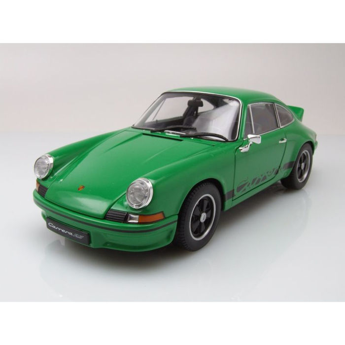 Welly - Scale 1/18 - Porsche 911 Carrera RS 1973 - Green