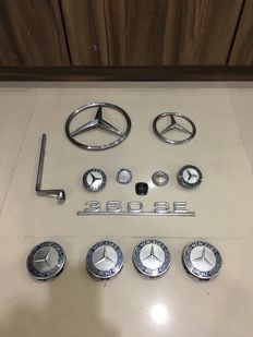 Mercedes-Benz emblems etc.