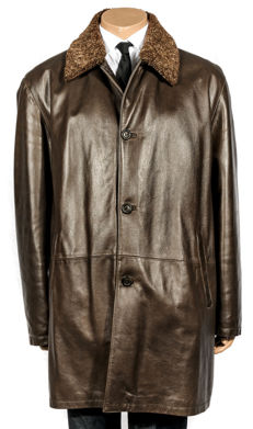 Gallotti - Genuine leather jacket - made in Italy