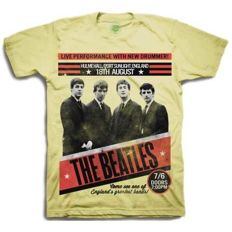 Three great Beatles T shirts, still sealed in their original bags. All are size XXL.