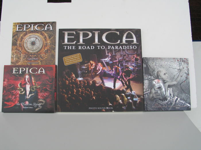 Epica -  lot of 5 CD's and 1 publication.
