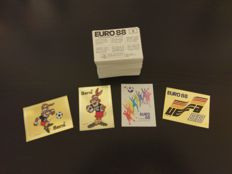 Panini - EURO 1988 - Complete sticker Set from 1 - 267.