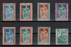 Kingdom of Italy, 1928-1931 - 1 complete series and fragments