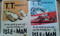 2 Nostalgic Posters - T.T. Races Isle of Man