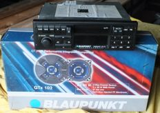 Blaupunkt FREIBURG CR 43 - classic car radio - 1992 with BLAUPUNKT speakers GTx 102 90 watt