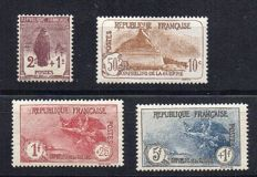 France 1926 - 3rd Orphan series - Yvert numbers 229 to 232.