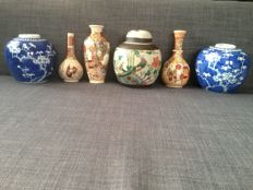 Chinese jars and Japanese vases - China/Japan - 1st-2nd half 20th century