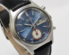 Seiko Flyback Cal 7016 Chronograph Automatic Men's Wrist Watch - circa 1970s