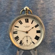 H Stone - Men's pocket watch - Large - 1907