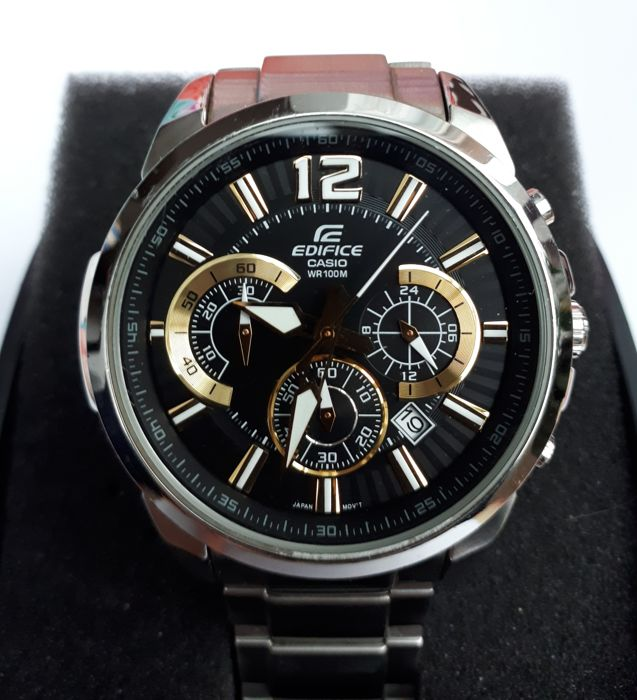 f58346ea1afc CASIO Edifice - WR100M - 5344 - Men - 2011-present - Catawiki