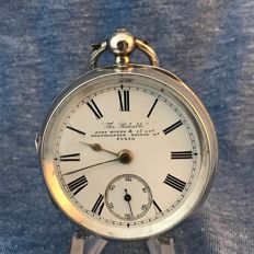John Myers - Men's pocket watch - Open face - 1898