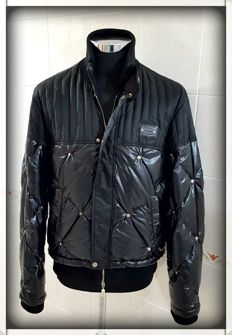 Cesare Paciotti - Bomber jacket with genuine eiderdown - Made in Italy
