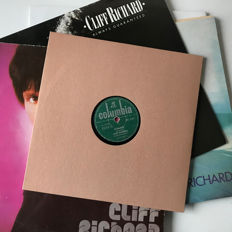 Cliff Richard lot of 5 vintage records including India pressed 10inch