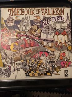 Deep Purple Collection : 5 Lp Albums and 3 Dvd's