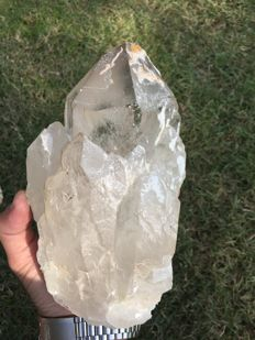 Huge smoky quartz crystal - 17.5x11x9 cm -1,722 gr
