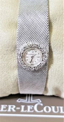 Jaeger-LeCoultre - Dial with 18 antique diamonds - Vintage - Ladies - 1950 - 1959