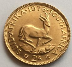 South Africa - 2 rand 1976 - gold