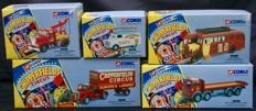 Corgi Classics - Scale 1/50 - Lot of 5 vehicles 'Chipperfields Circus' 1994