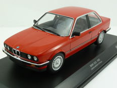 Minichamps - Scale 1/18 - BMW 323i (e30) 1982 - Red