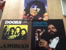 """Great Lot of 3 Lp's - Doors - """"Light My Fire """"- Limited Picture Disc - """" The Music is Your only Friend """" - """" L.A Woman """""""