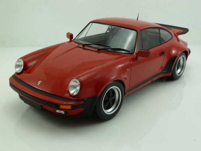 Minichamps - Scale 1/12 - Porsche 911 (930) Turbo 1977 - Guards (Indian) Red