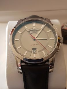 Maurice Lacroix Pontos Day Date automatic, new, 2017, red hands and markers