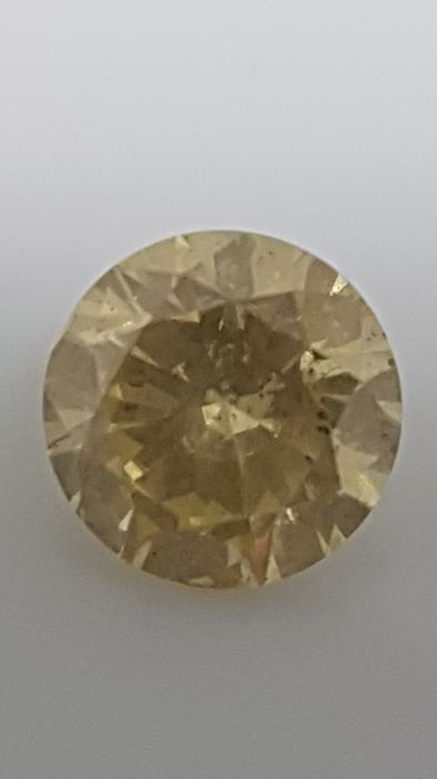 1.07 ct - Round Brilliant - Yellow - SI2