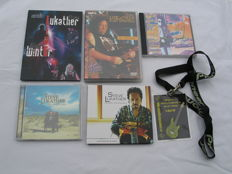 Steve Lukather - Lot of 3 CD's + 2 DVD's + Crew label.
