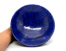Large Royal Blue Lapis Lazuli Bowl-200 x 70 mm - 780 gm
