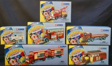 Corgi Classics - Scale 1/50 - Lot of 6 vehicles 'Chipperfields Circus' 1994