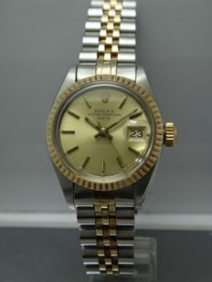 Rolex - Oyster Perpatual Date - 6917 Automatic - Women Watch - 1979