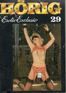 BDSM; Lot with 10 issues by Hörig Erotic Exclusiv - 1985/1986