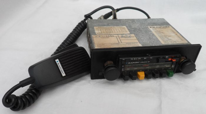 Classic Blaupunkt Radio For Classic Cars Type Koblenz With Built In 27 Mc Transmission Device Catawiki