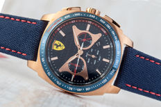 Ferrari Scuderia Aerodinamico Chronograph – men's watch - mint condition 2017
