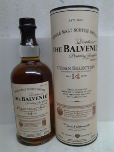 The Balvenie Cuban Selection 14 Years Old 1995/2009.