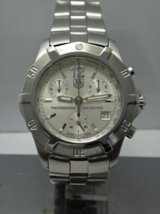 Tag Heuer 200m Professional Chronograph Ref. CN1111 - men's watch 2000's
