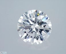 GIA Certificate: 1.57 carat D VVS2 Round Brilliant Natural Diamond ** 3 X Excellent **