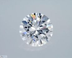 GIA Certificate: 2.13 carat D VVS1 Round Brilliant Natural Diamond *