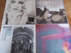 Nice Lot with 12 LP Albums of Great Glamrock & Synth Pop Artists of the Eighties (1 Double)
