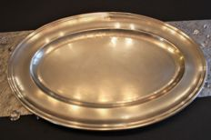 Large platter - Christofle, Paris - 1st half of the 20th century