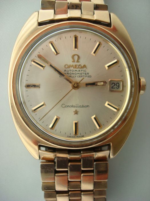 Omega - Constellation chronometer - mens' watch - ca. 1960s