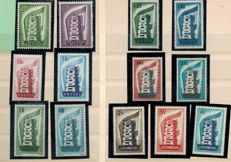 Europa 1956/1982 - Collection of stamps