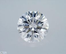 GIA Certificate: 2.32 carat E VVS1 Round Brilliant Natural Diamond **3 X EXCELLENT**