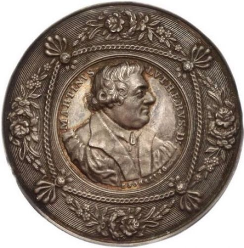 Germany - Silver Medal 1830 Martin Luther - silver