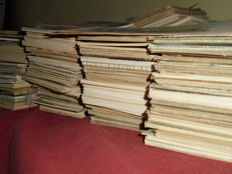 Lot with more than 3000 post / postcards -fantasy/them cards & trading / collectors cards - The Netherlands & Belgium - from early 1900