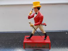 Johnnie Walker Advertising figure made of plastic, 16.5 cm, very rare, circa 1970s.