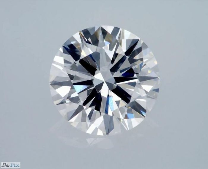 GIA Certificate: 3.02 carat F IF ( Flawless) Round Brilliant Natural Diamond